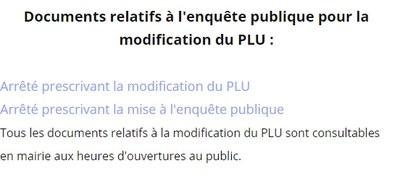 Site Mairie docs modif PLU 1