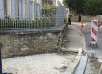 Trottoir rue de Chatillon 5