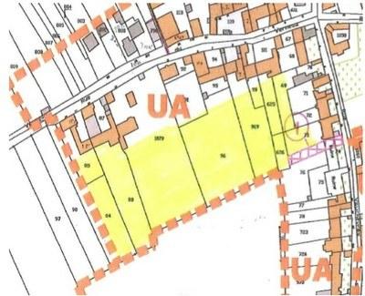 Lots arrières de la rue du Verneau et rue Vauchèvre, zone UA