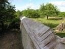 Mur du jardin communal
