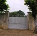 Portail du cimetière remplacé