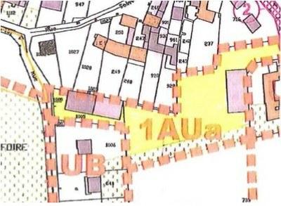 Rue de la Libération, zone 1UAa constructible sous conditions